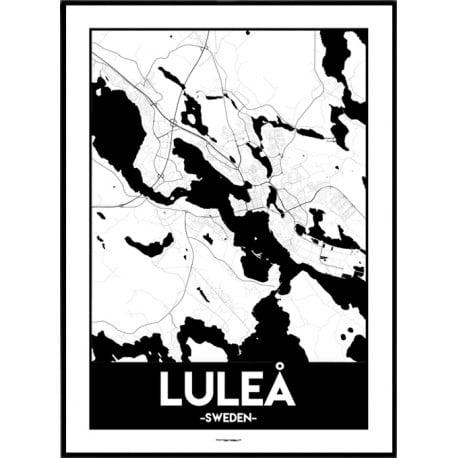 Luleå Urban Poster