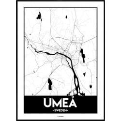 Umeå Urban Poster
