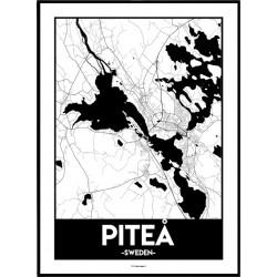 Piteå Urban Poster