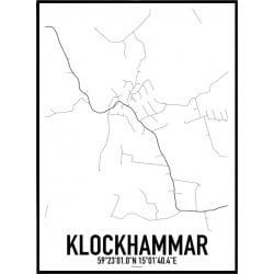 Klockhammar Karta