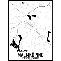 Malmköping Karta