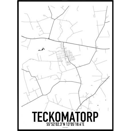 Teckomatorp Karta