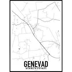 Genevad Karta