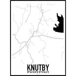 Knutby Karta Poster