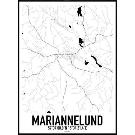 Mariannelund Karta