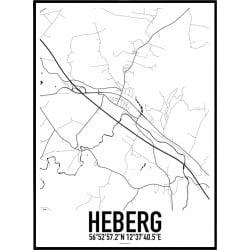 Heberg Karta