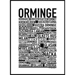 Orminge Poster