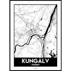 Kungälv Urban Poster