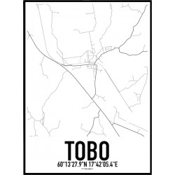 Tobo Karta Poster