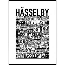 Hässelby Poster