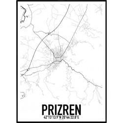 Prizren Karta