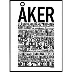 Åker Poster