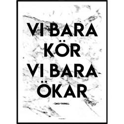 Vi Bara Ökar Poster