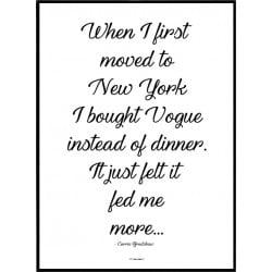 Vogue Life Poster