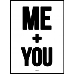 ME + YOU Poster