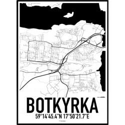 Botkyrka Karta Poster