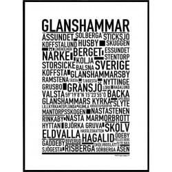 Glanshammar Poster