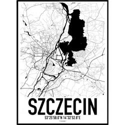 Szczecin Karta Poster