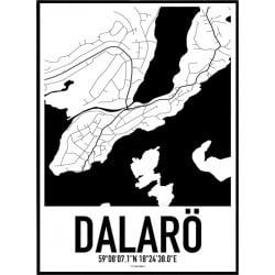 Dalarö Karta