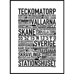 Teckomatorp Poster