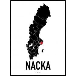 Nacka Heart Poster
