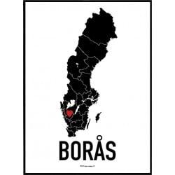 Borås Heart Poster