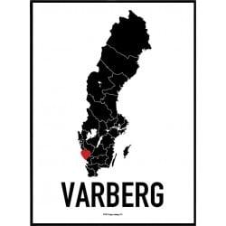 Varberg Heart Poster