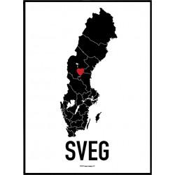 Sveg Heart Poster