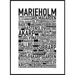 Marieholm Poster