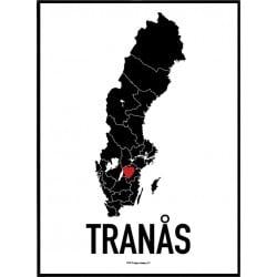 Tranås Heart Poster
