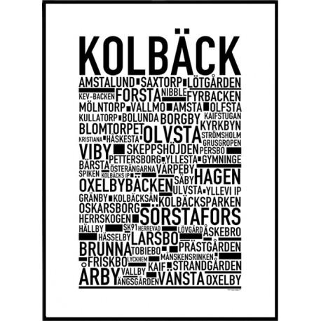 Kolbäck Poster