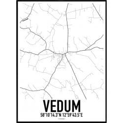 Vedum Karta Poster