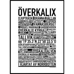 Överkalix Poster