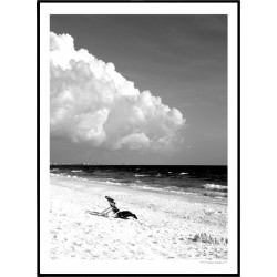 White Beach Poster
