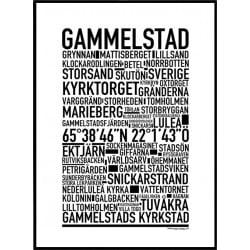 Gammelstad Poster