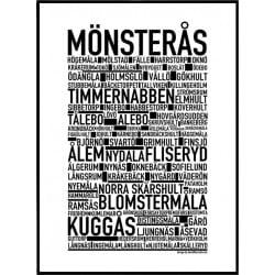 Mönsterås Poster