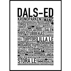 Dals-Ed Poster