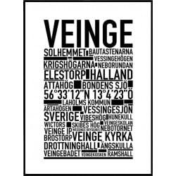 Veinge Poster