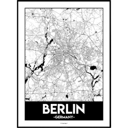 Berlin Urban Poster