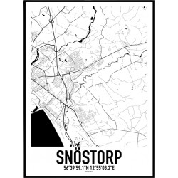 Snöstorp Karta