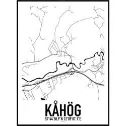 Kåhög Karta