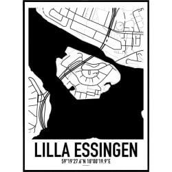 Lilla Essingen Karta