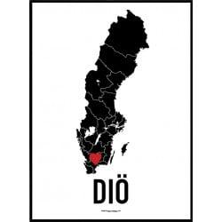 Diö Heart Poster