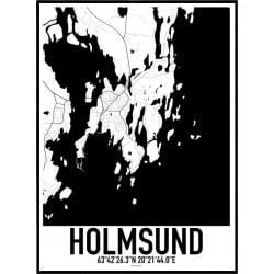 Holmsund Karta