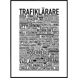 Trafiklärare Poster