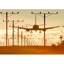 Sunset LAX Landing