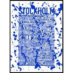 Stockholm Blue Splash