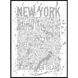 NY Splash Grey