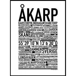 Arlöv Poster