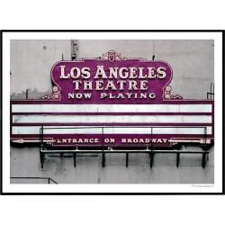 LA Theatre Poster